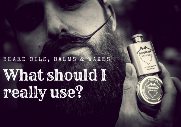 What beard care to use?